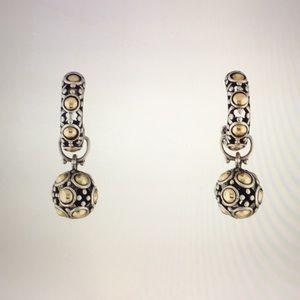 JOHN HARDY Two-Tone Jaisalmer Dot Drop Earrings